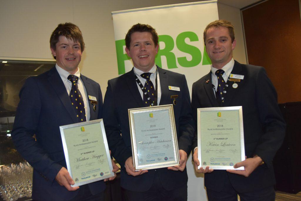 2018 Rural Ambassador Award Winner and Runner Ups