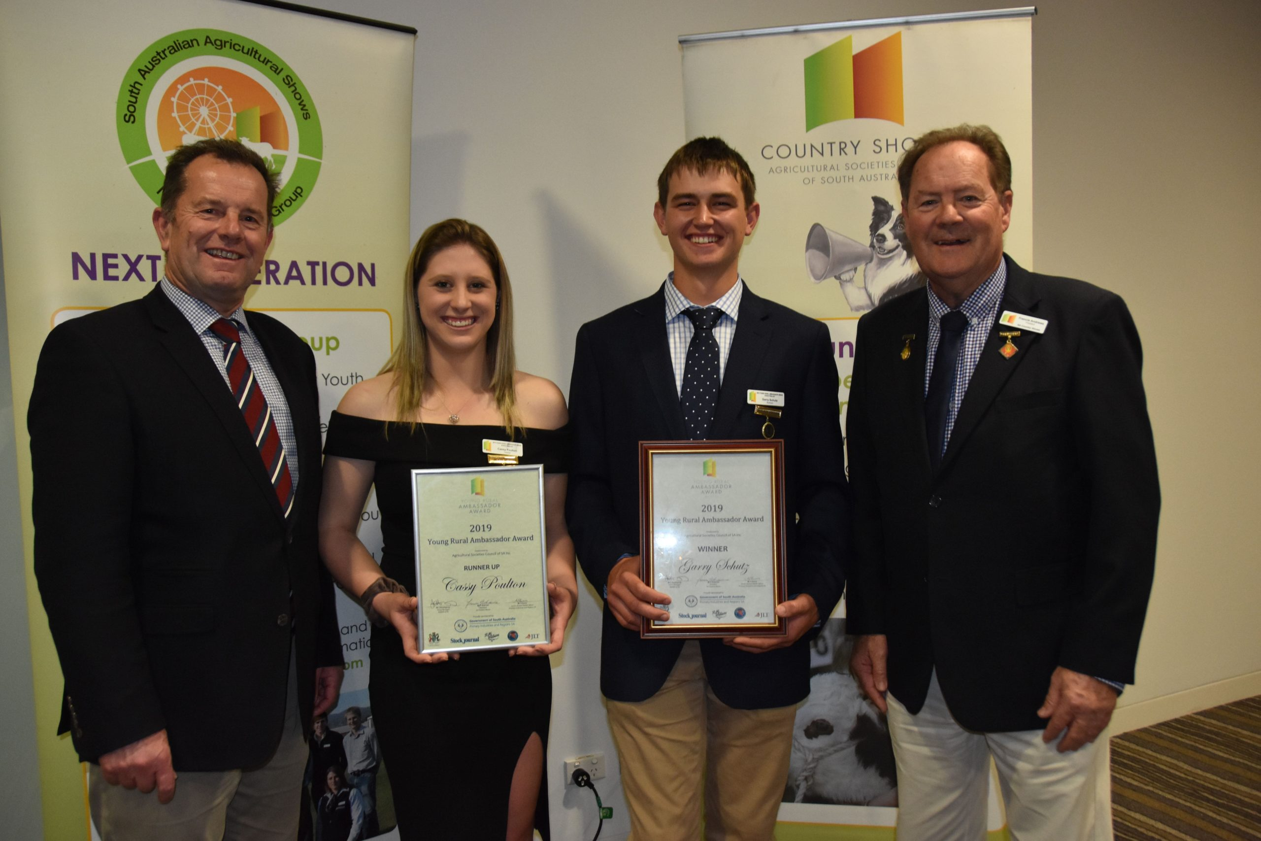 2019 Young Rural Ambassador Award winner & runner up