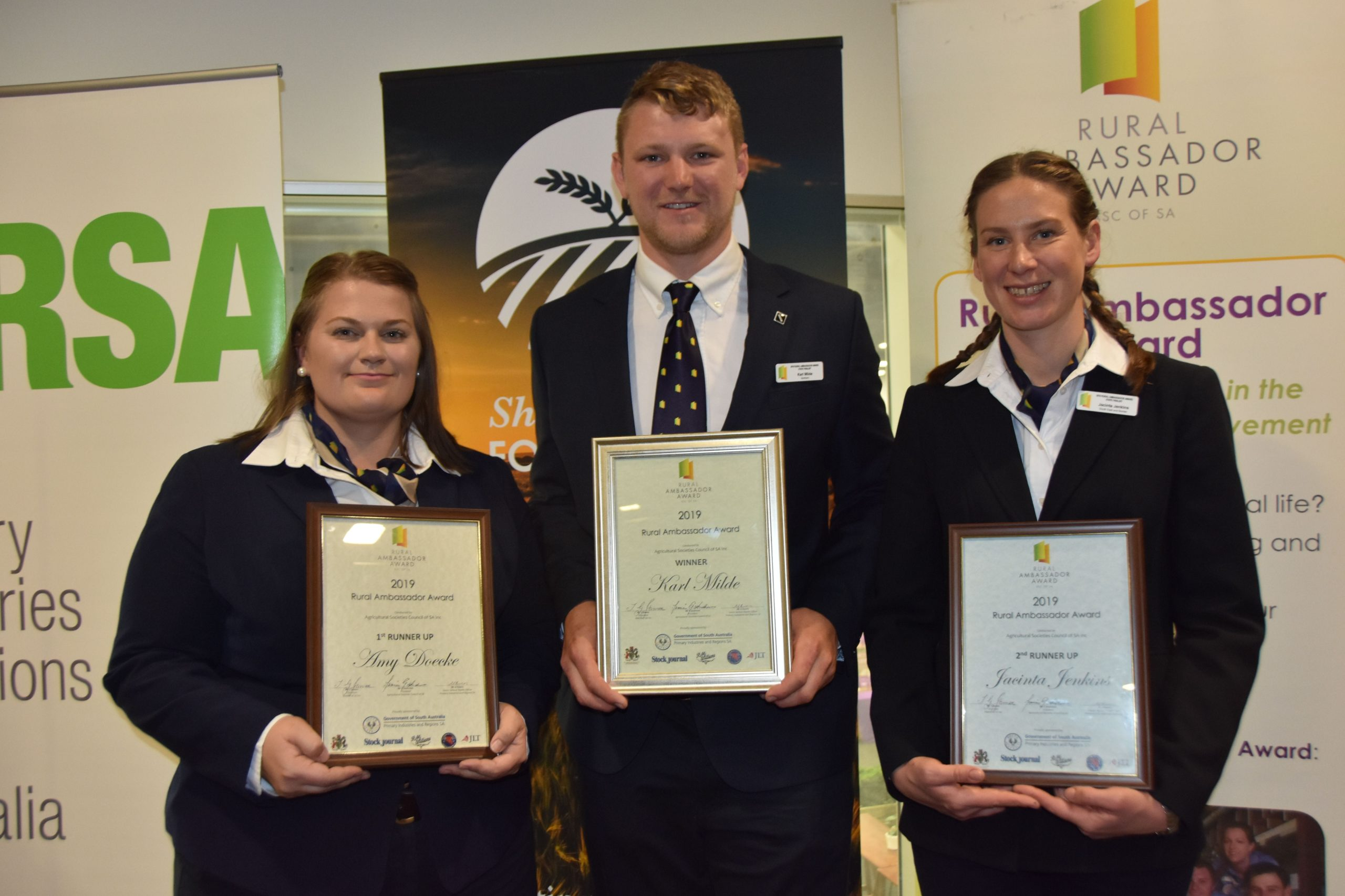 2019 Rural Ambassador Award Winners