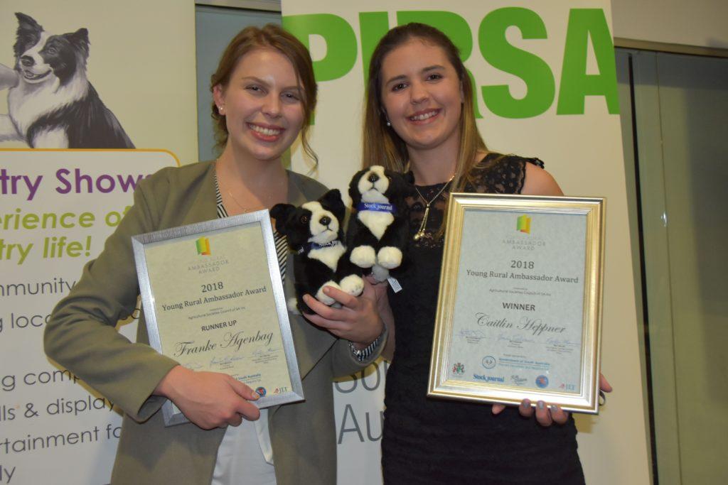 2018 Young Rural Ambassador Award Winner and Runner Up