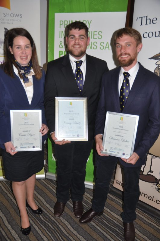 2015 Rural Ambassador Award Winner and Runner Ups