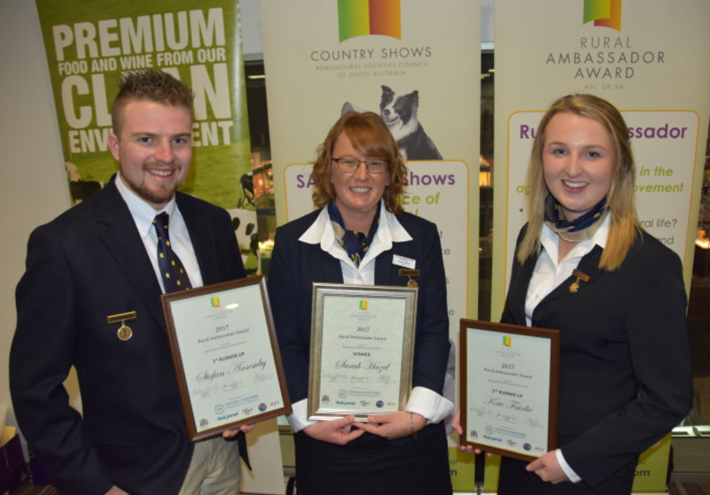 2017 Rural Ambassador Award Winner and Runner Ups
